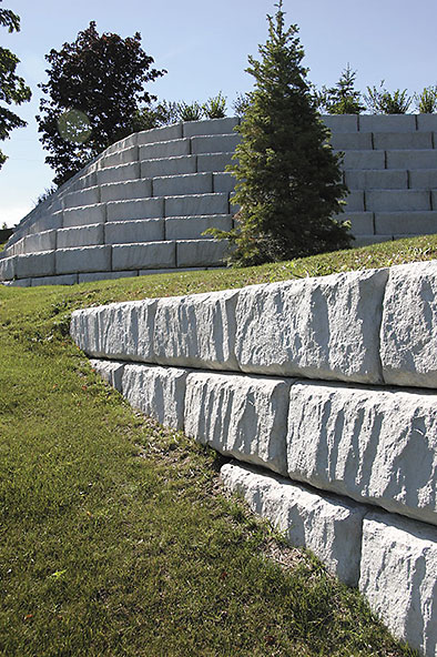 Lahman Precast Redi Rock Retaining Walls Natural